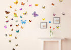 removeable butterfly living room decorative wall decals