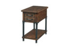 small rustic oak end tables with storage ideas for wooden end tables living room