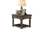 small wooden side tables with storage for living room accent table