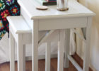 white small oak coffee end tables set for wooden side tables living room