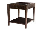 wood oak end tables with storage for small living room side tables