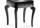 wooden black end tables for small accent table living room