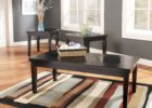 3 piece coffee table sets under $200 black solid wood