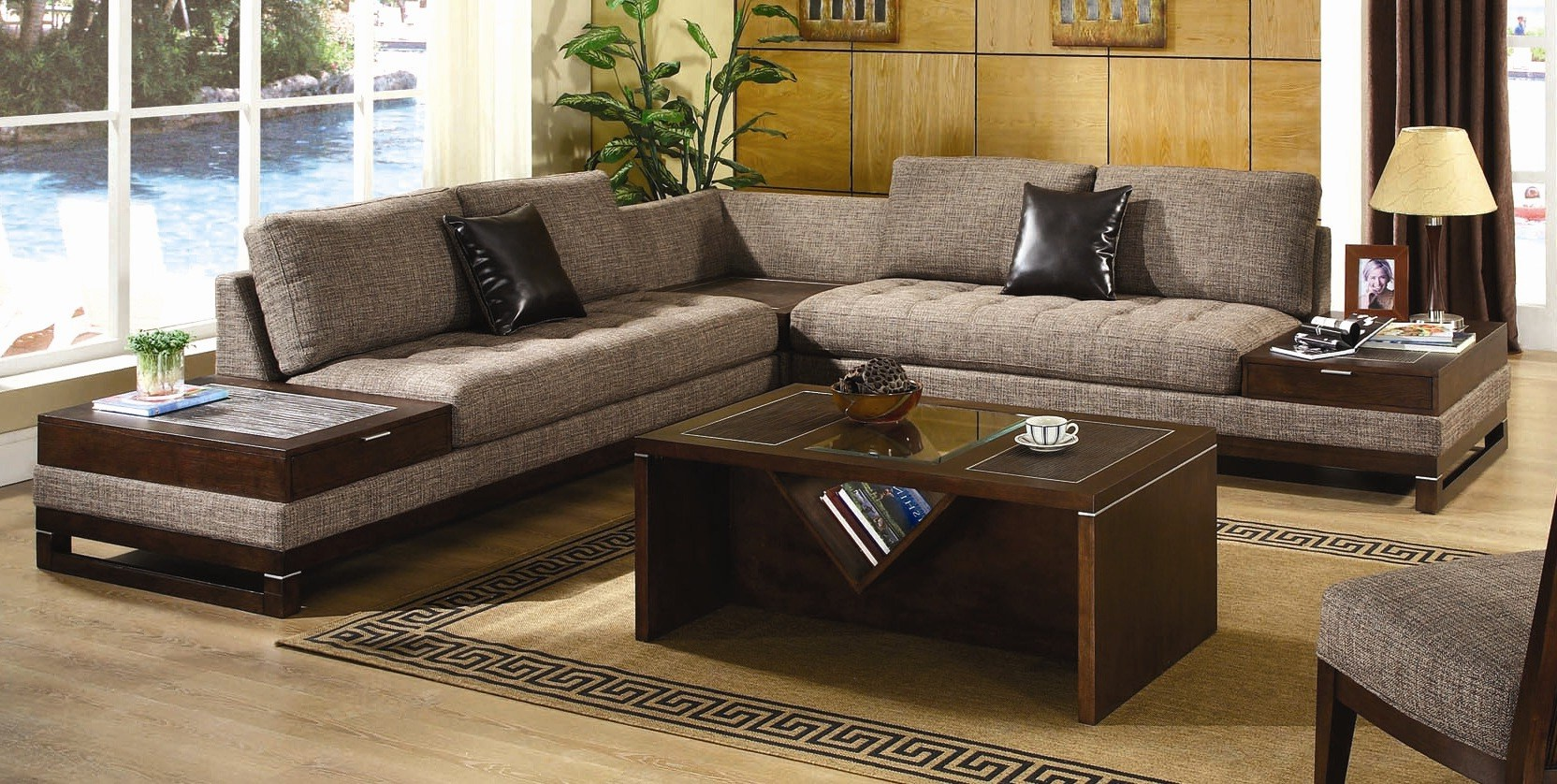 3 piece coffee table sets under 200 for Living room table sets