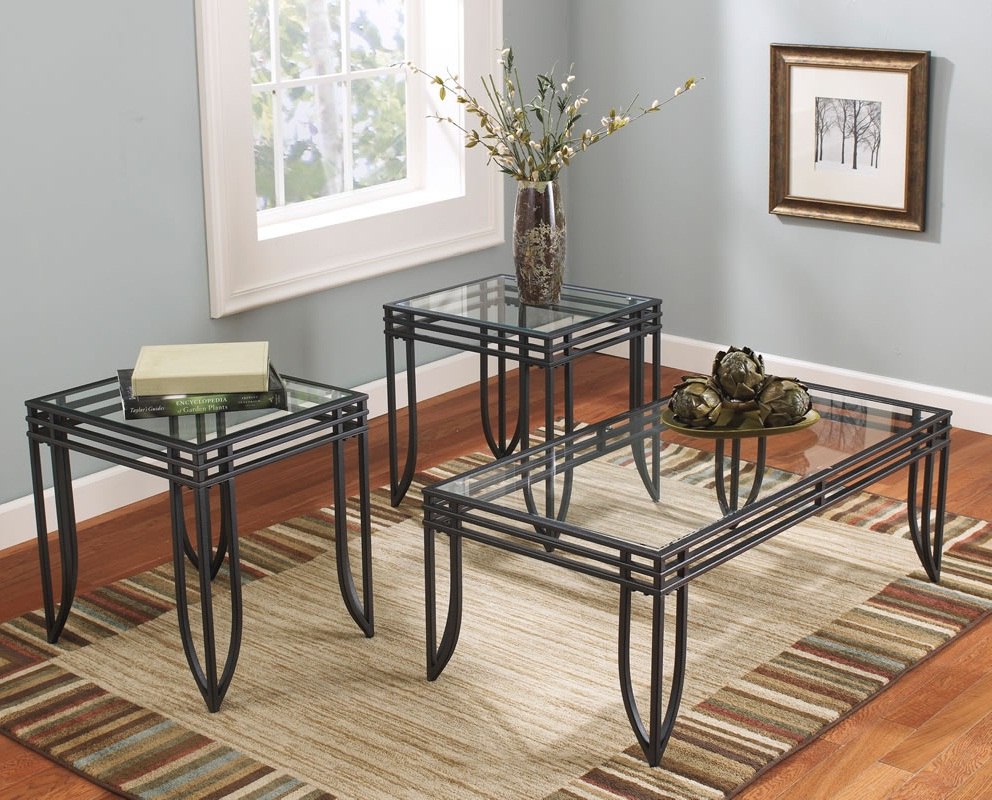 3 piece coffee table sets under $200 glass on top ideas