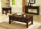3 piece coffee table sets under $200 with drawers
