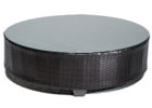 Tk Maxx coffee table with black glass on top