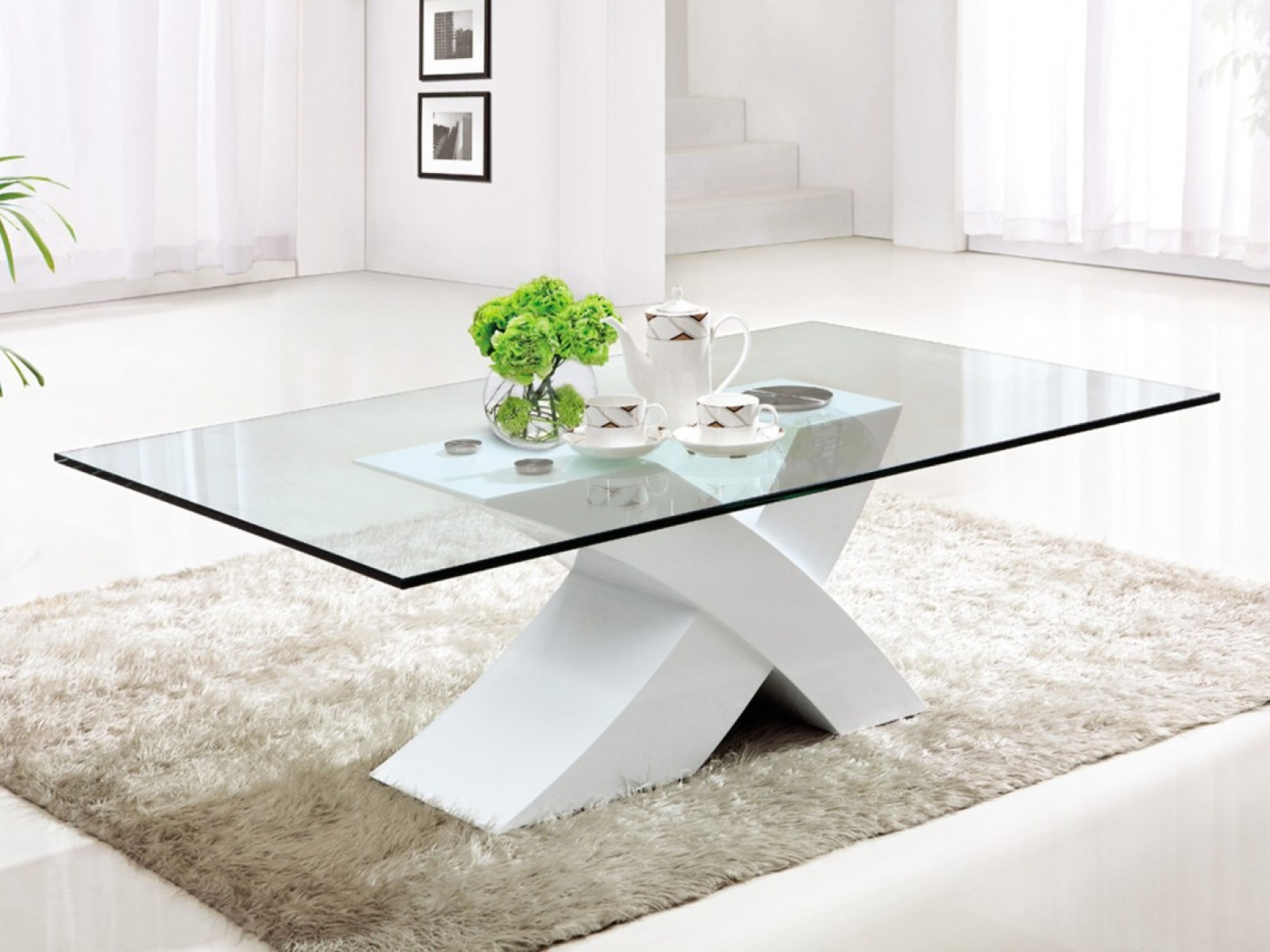 Acrylic Coffee Table Ikea with Clear View
