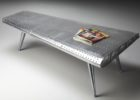 airplane wing coffee table with metal legs