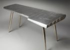 airplane wing coffee table with wooden legs