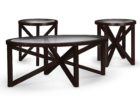 american signature coffee table glass