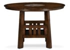 american signature coffee table small round wood