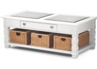 american signature coffee table white furniture with storage