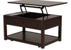 ashley furniture lift top coffee table black solid wood