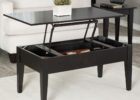 ashley furniture lift top coffee table black solid wood design