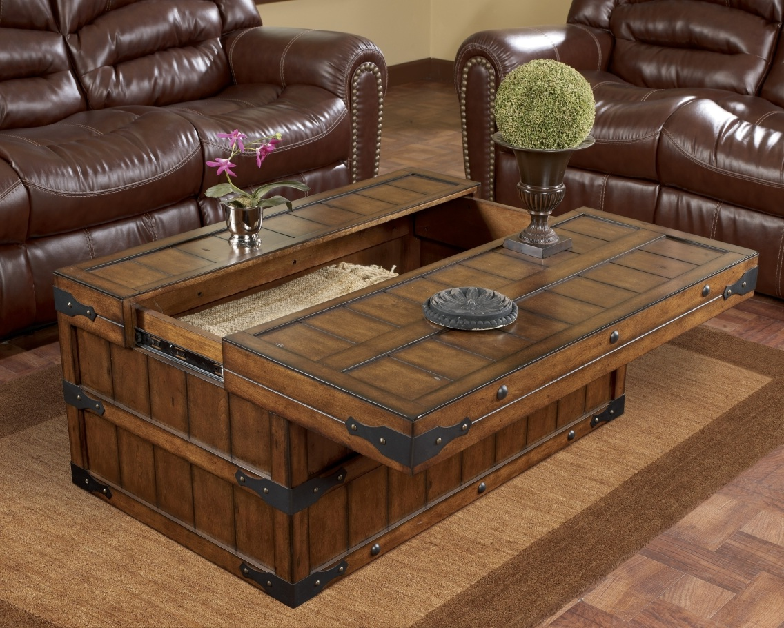 ashley furniture lift top coffee table chest wood design