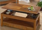 ashley furniture lift top coffee table oak wood with drawer