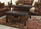 ashley furniture lift top coffee table with leather on top