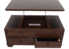 ashley furniture lift top coffee table with two drawers