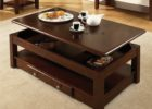 ashley furniture lift top coffee table wood