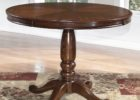 ashley furniture round coffee table pine wood