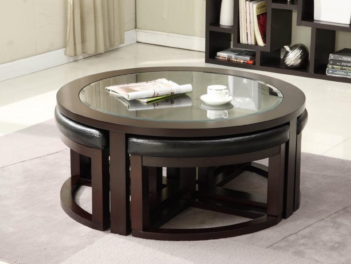 - Ashley Furniture Round Coffee Table Set