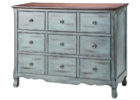 awesome blue rustic living room chest cabinets furnitures