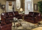 awesome brown leather living room sets
