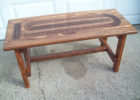 awesome cribbage board coffee table