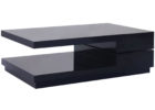awesome dark grey gloss coffee table for small living room space