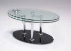 awesome furniture village glass coffee table with metal legs