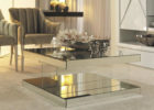 awesome mirrored coffee table tray furniture design