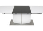 awesome modern white grey gloss coffee table
