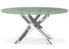 awesome round furniture village glass coffee table with metal legs