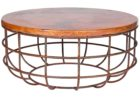 awesome round wooden Ikea coffee table Uk with metal legs