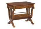best cherry wood living room end tables with storages