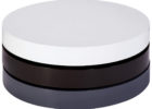 best contemporary round grey gloss coffee table