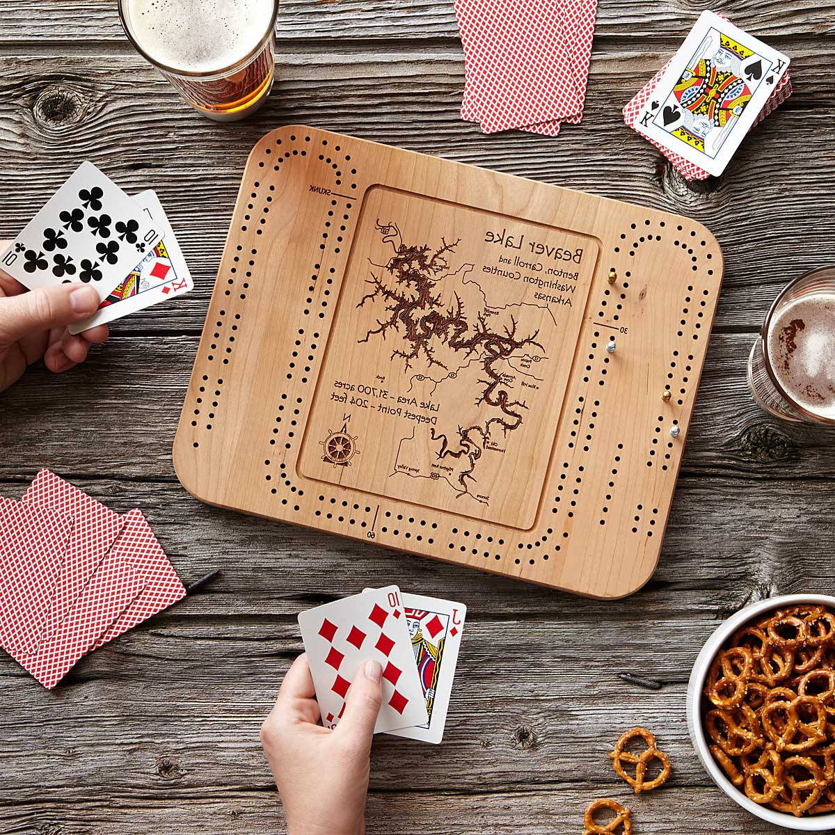 best cribbage board coffee table design