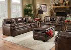 best formal brown leather living room sets