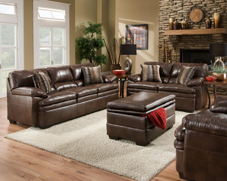 best formal brown leather living room sets