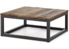 best inexpensive coffee tables with black metal legs