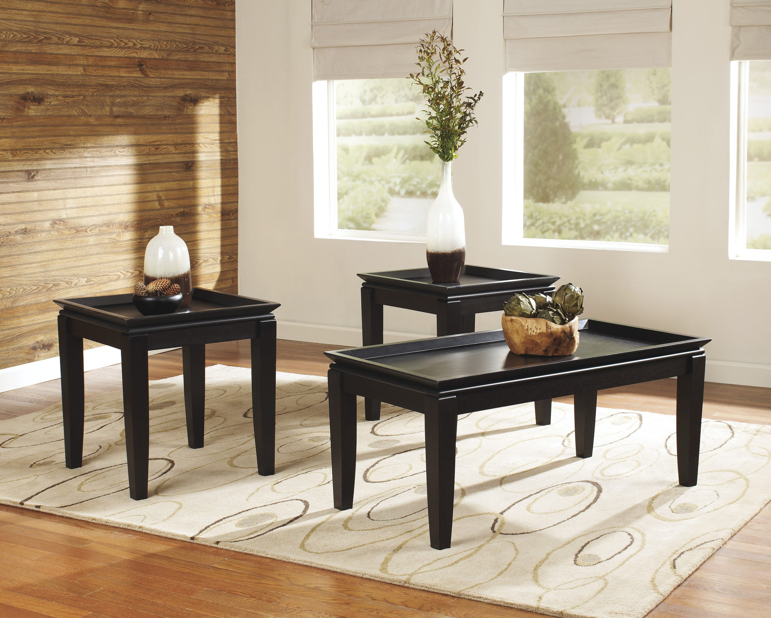 best modern black glass coffee tables under $200