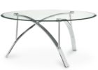 best modern glass coffee tables under $200 with metal legs