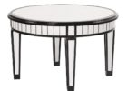 best round mirrored coffee table tray ideas