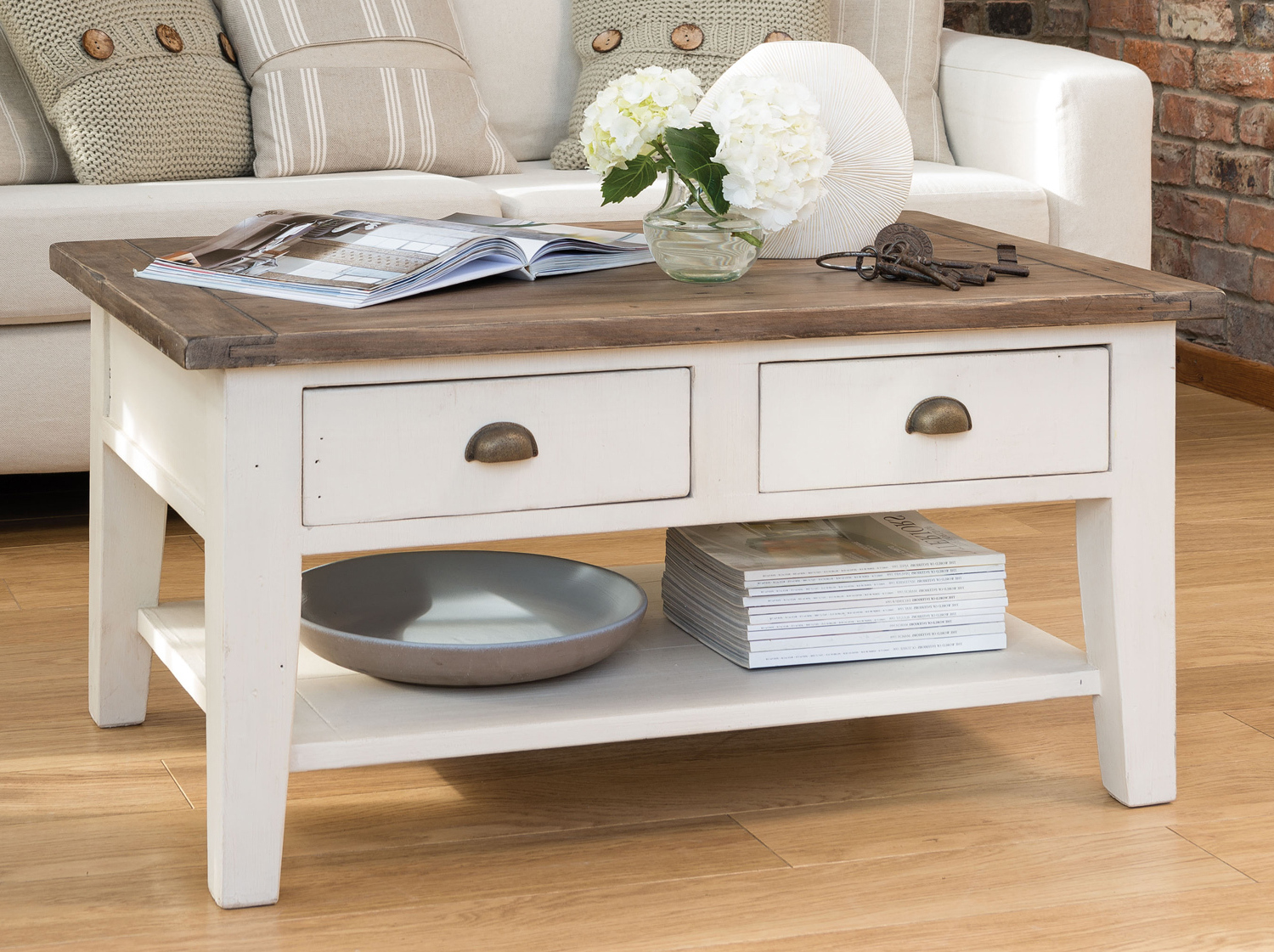 Country coffee tablefrench country coffee table furniture for White country style coffee table