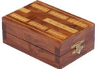best wooden cribbage board coffee table
