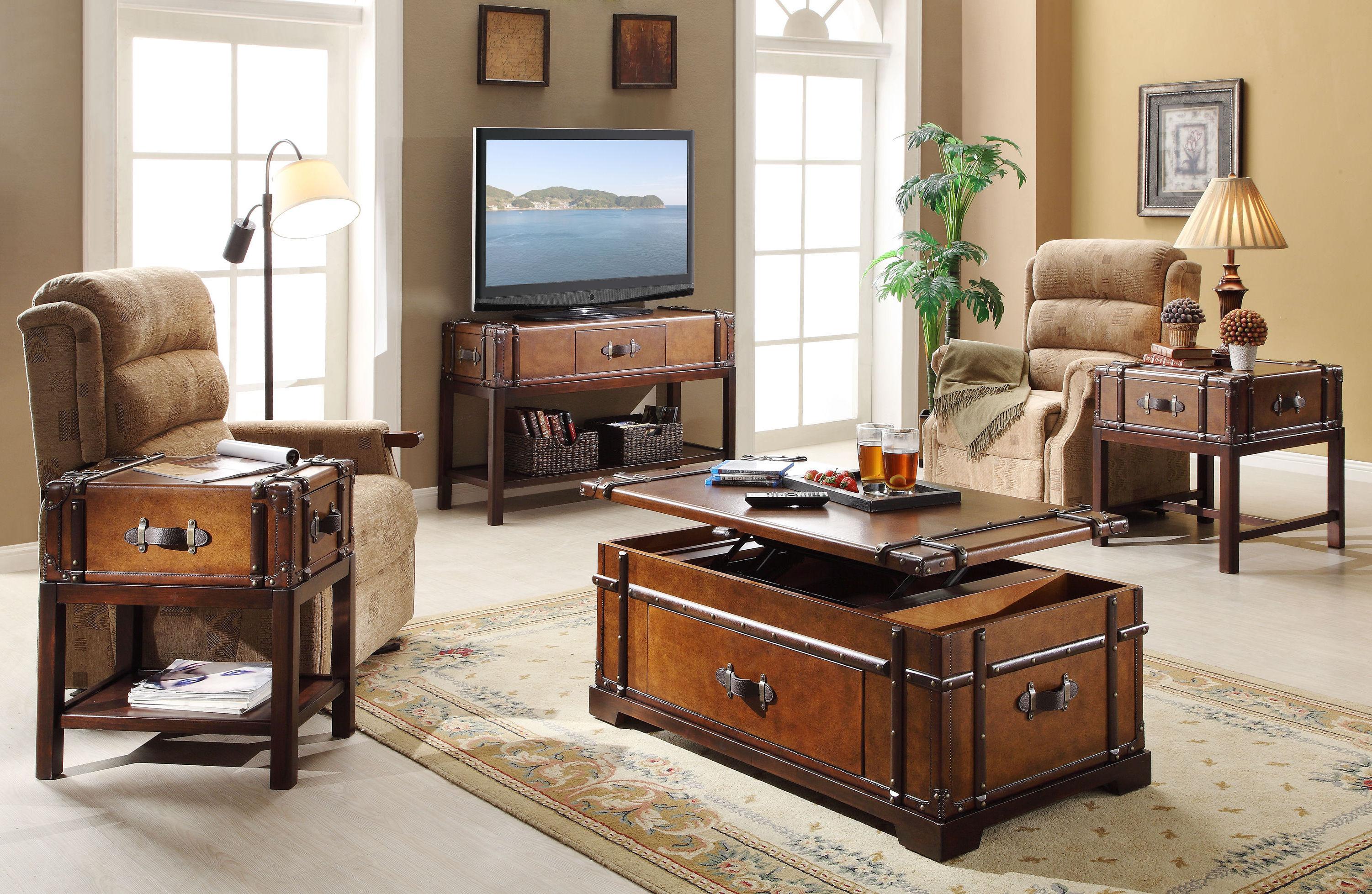 best wooden living room chest furniture sets