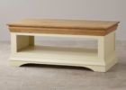 brown white modern solid wood oak furniture land coffee tables