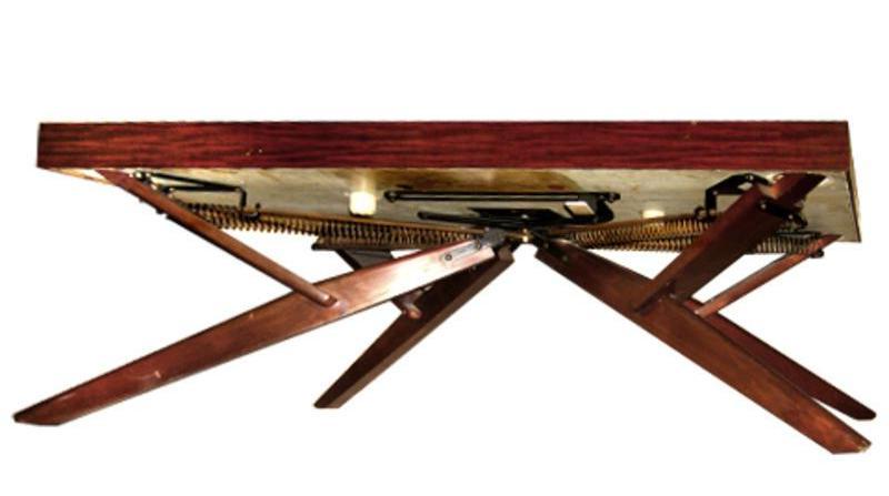 castro convertible coffee table legs