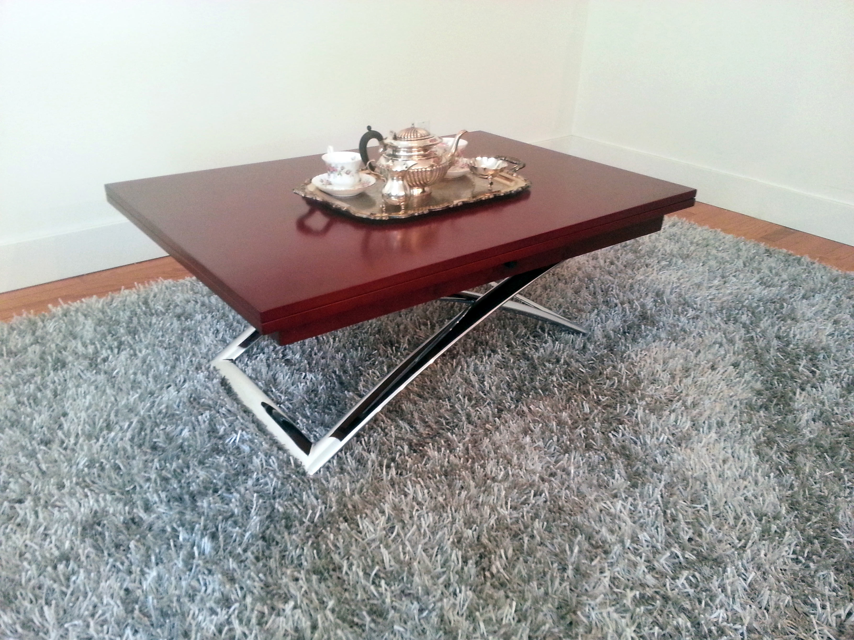 castro convertible coffee table with solid wood